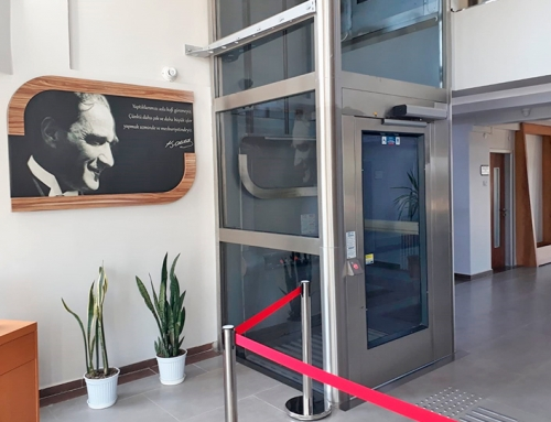 Marmaray Engelli Asansörü