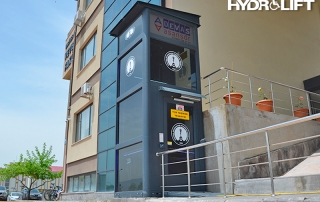 35.735.1102 kapalı tipi dikey-kaldırma hareket engelli platform asansörü